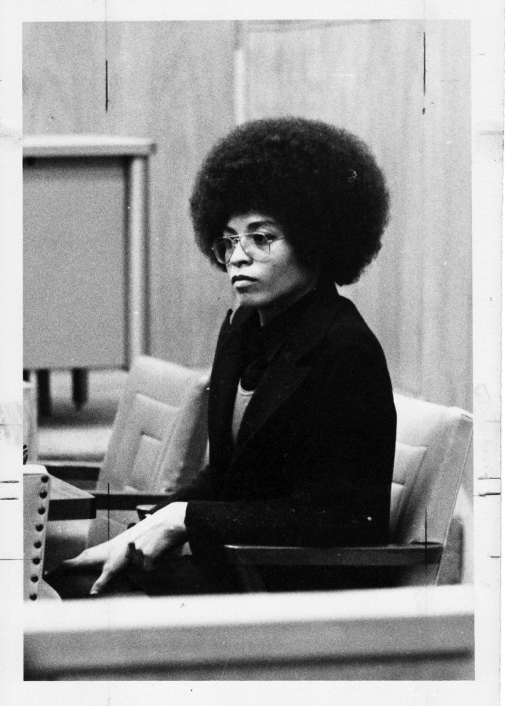 Angela Davis, subject of Shola Lynch's film Free Angela & All Political Prisoners